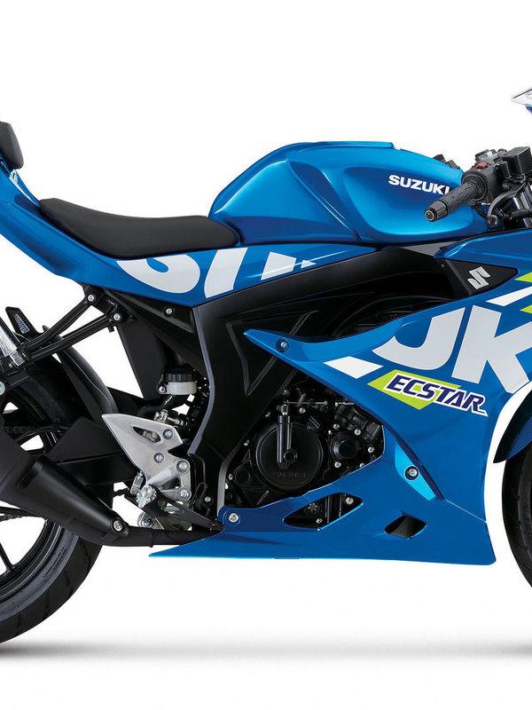 GSX-R125 METALLIC TRITON BLUE
