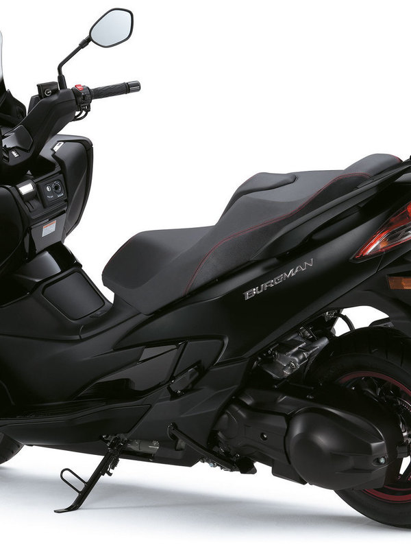 Burgman 400 METALLIC MAT BLACK NO.2